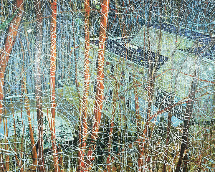 frenchgarmentcleaners:  Peter Doig The Architects Home in the Ravine 1991 - FGC Co.