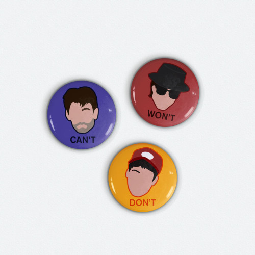 beastie boys magnet set