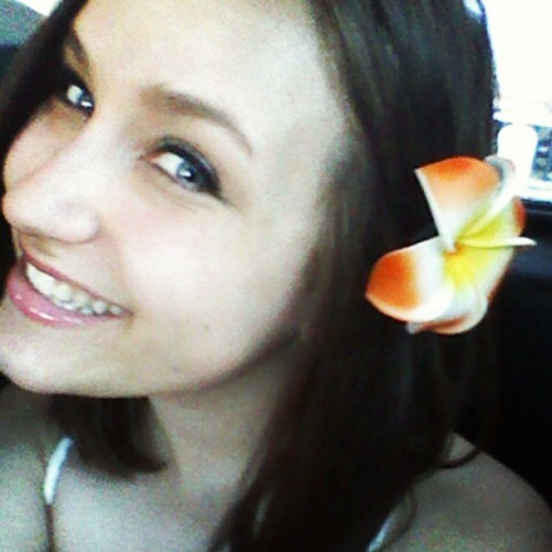 Got my aloha wear ;) #alohafestival #flower