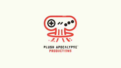 coryschmitz:  Branding for Seattle indie video game developer Plush Apocalypse.