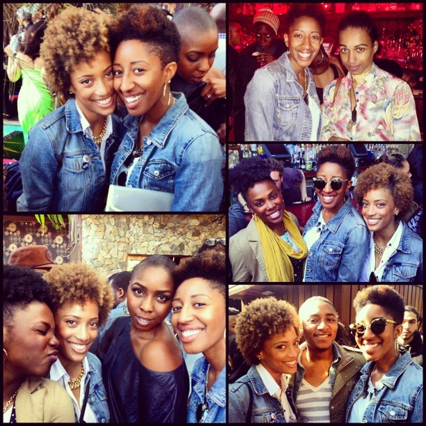 More photos from yesterday's #everydaypplbrunch @shawnacorso @katrinabello @tloui143! Great to see you Claxton, and nice to meet you @yagazieemezi! 😃#everydaypplnyc #naturalhair #nyc #brunch #cincodemayo