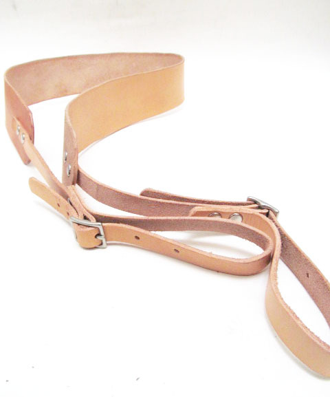 cicadaleathercompany:  Monogrammed Leather Camera Strap by Cicada Leather Company