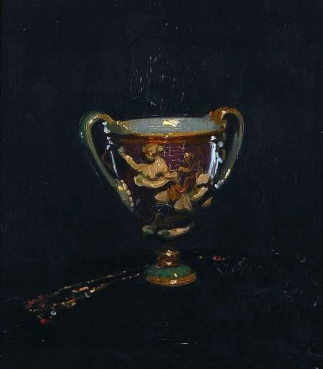 William Nicholson The Canticelli Vase (or The Wedgwood Bowl and Necklace) 1905