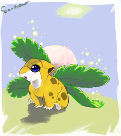 gcart:  My first one, it was too damn cute to not do! Sandysaur!