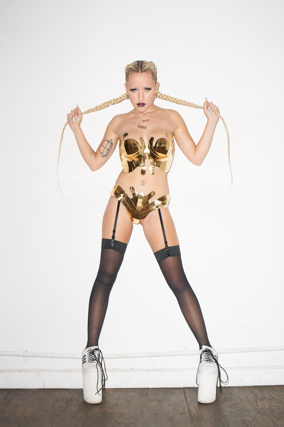 terrysdiary:  Brooke Candy at my studio #3