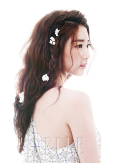 koreanmodel:  Kim Sarang by Park Jungmin for ELLE Korea June 2012