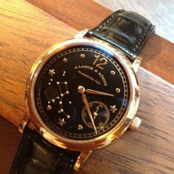 Wow, lusting after this amazing 1815 moon phase Lange #lange