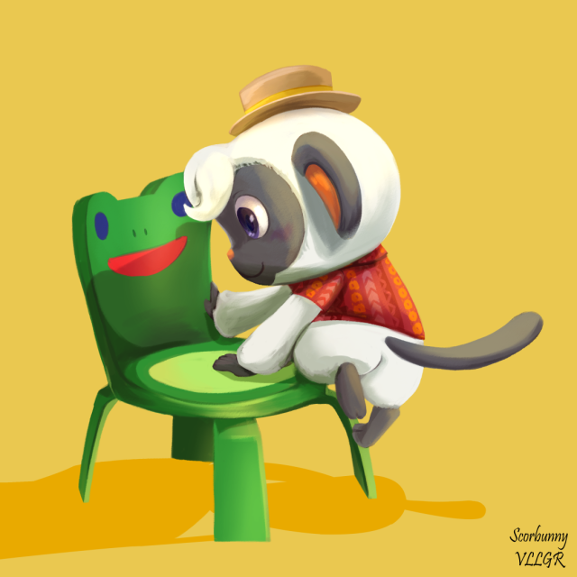 AAAAAHH! Im súper excited with the new Animal Crossing update😱 They literally added everything we asked for, I ALREADY WANT TO PLAY!!!!  Also niko is super cute! 🥰💕 P.S. froggy chair!!!!! #my art#animal crossing #animal crossing update #froggy chair#super cute#niko#acnh #animal crossing fanart #nintendo #im super excited