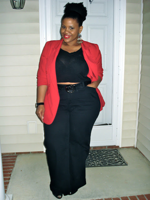 mariedenee:  (via FASHION FRIDAYS: Five Looks We Love 05.10.2013 | The Curvy Fashionista)