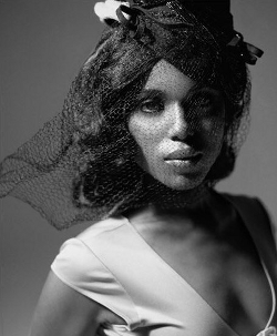 wasikowskas:  Kerry Washington photographed by Jennifer Tzar