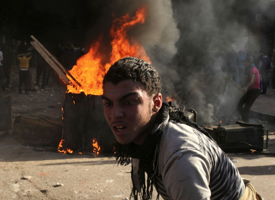 Clashes Mar Egyptian Revolution's Second Anniversary. http://www.ibtimes.co.uk/articles/428006/20130125/clashes-egypt-revolution-s-second-anniversary.htm