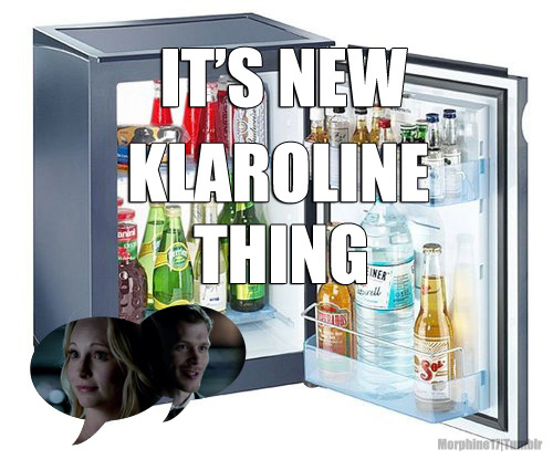 morphine17:  klaroline + mini-fridge