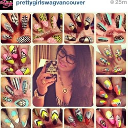 #regram of a dope collage made by @prettygirlswagvancouver! thanks girl for that shout out! everyone needs to check out her site: prettygirlswagger.bigcartel.com for the flyest accessories! 😘😘😘 #deeznails #nails #nailart #nailporn #nailswag #nail_fans #nailartist #naildesigner #naildesign #vancouver #vancouvernails #richmond #steveston #surrey #burnaby #notd #nailsoftheday #bossbitch #bossbitchswag #prettygirlswag #prettygirloftheweek #ambitiousgirls