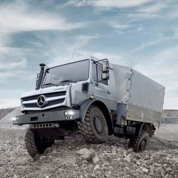 How about going off-roading in this new Mercedes-Benz Unimog.