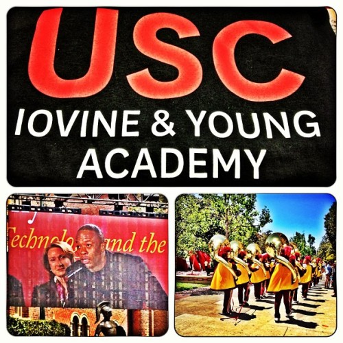Went to the announcement of the USC Iovine & Young Academy. $70 million donated by Jimmy Iovine and Dr. Dre.