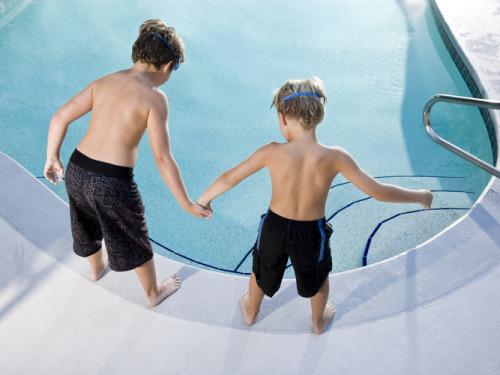"npr:  Perhaps you've noticed a toddler's sagging swim diaper and wondered if it's really keeping the poop out of your neighborhood pool. The Centers for Disease Control and Prevention has the answer for you: no. Last summer, researchers at the federal public health agency collected 161 filter samples from public swimming pools in the Atlanta area. More than half of those samples, 58 percent, were contaminated with E. coli. That, the CDC reported today, ""signifies that swimmers introduced fecal matter into pool water."" — Everybody In The Pool! But Please Leave The Poop Behind : Shots - Health News   Photo: iStockphoto.com"