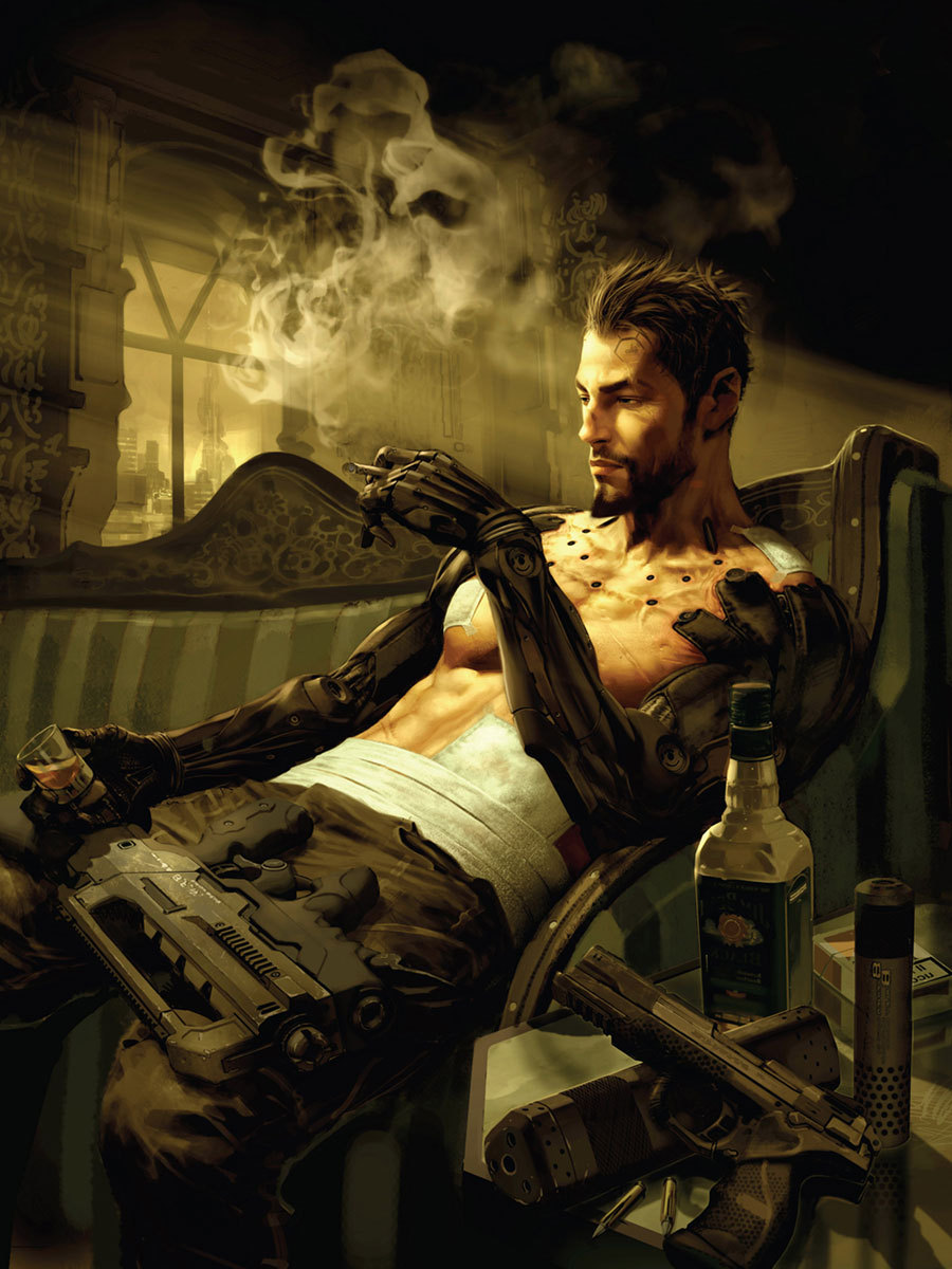 theomeganerd:  Hands on gameplay of Deus Ex: Human Revolution Director's Cut for the Nintendo Wii U Nintendo UK catches up with gamers at The Gadget Show Live 2013 to find out what they think of Deus Ex: Human Revolution - Director's Cut on Wii U. The video shows how the map, inventory screen and skill tree are all accessible on the gamepad without the need to bring them up on the main screen. Along with reworked boss battles, this will be one of many features exclusive to the Wii U version, dubbed Director's Cut. Releases sometime 2013