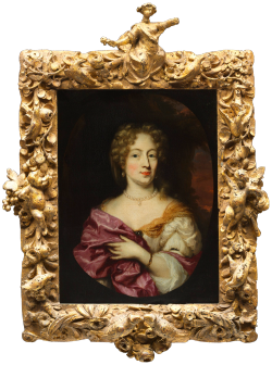 jaded-mandarin:  Portrait of Ingena Rotterdam (died 1704), Betrothed of Admiral Jacob Binkes.