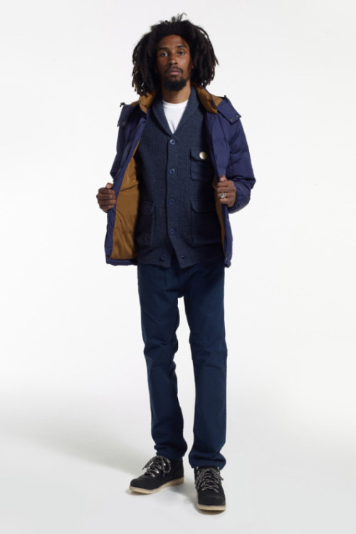 Stussy Holiday 2012 Lookbook Stussy have finally released their holiday 2012 lookbook. It includes several of their signature pieces such as the M65 jacket and flannel button down shirts, perfect for the cold winter weather.