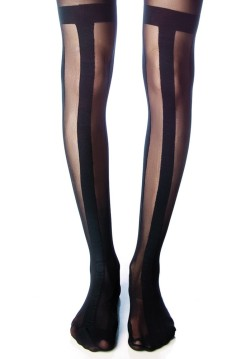 bombisbomb:  X Polly Striped Tights $28