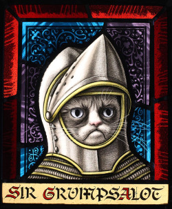 laughingsquid:  The Grumpy Cat Art Project at Lowe Mill ARTS & Entertainment in Huntsville, Alabama)