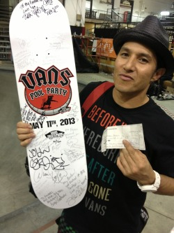 Deck of the Day - part 3 | Pro Tec Pool Party | Christian Hosoi