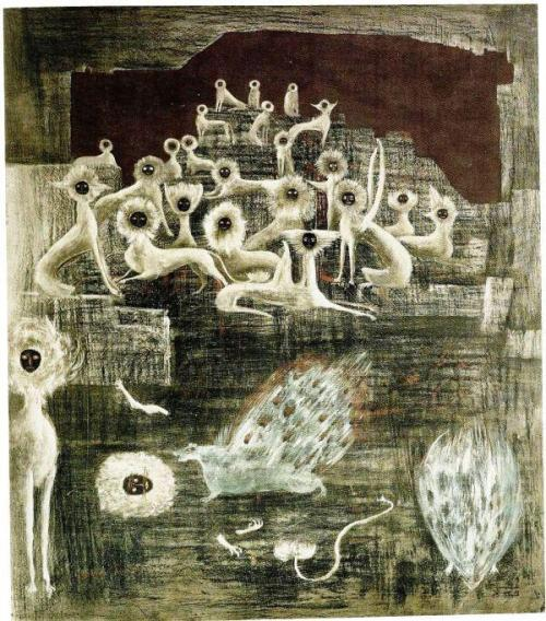 Leonora Carrington - Cats