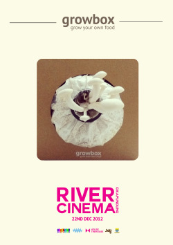 Hallo, Growbox will join in Cikapundung River Cinema! A one day festivity with full-on musics by the day and movies by the night at the city of Bandung riverside.  - Coming on this weekend, Saturday the 22nd of December 2012, Starts from 2 p.m. onward.  We'll be waiting for you to experience the first River Cinema in town. -This Event held by House The House & Bandung Creative City Forum  — Page FB - http://www.facebook.com/growboxbdg@growboxbdg