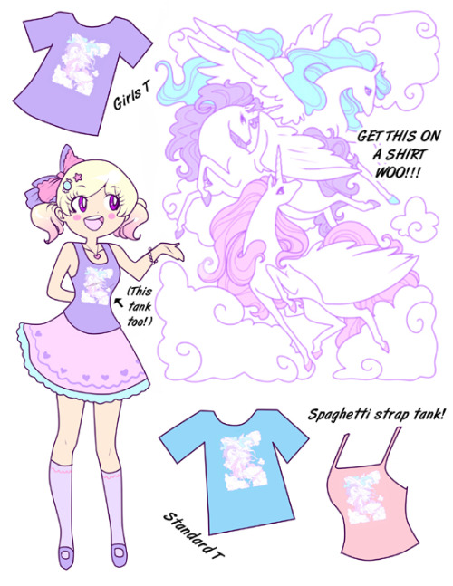 zambiunicorn:  Ya just found out it doesn't cost extra to put this design on tanks! I have a listing for 2 different types here: http://zambicandy.storenvy.com/products/1307176-pre-order-pegasus-shirts-tanks If you want a standard T shirt (mens) just purchase either of these listings: http://zambicandy.storenvy.com/products/274011-silk-screen-pegasus-shirt-pre-order or http://zambicandy.storenvy.com/products/274451-silk-screen-pegasus-shirt-pre-orders-2xl-and-3xl and put the color, size and standard T when you check out! Thanks peeps!!!!!!! xoxoxoxo
