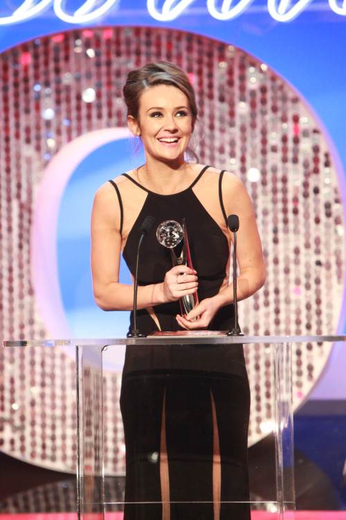 teamclairecooper:  Claire accepting her BEST ACTRESS award this evening at the British Soap Awards!