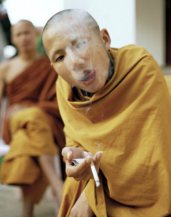 The monk with no fucks.