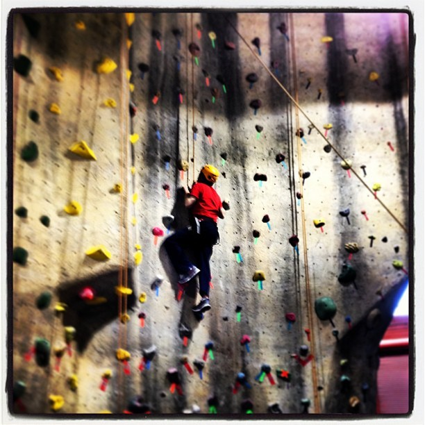 I climbed Mount Sportrock. #braveintheattempt @overtheedgeva @solympicsva @srclimbing (at Sportrock Climbing Center)