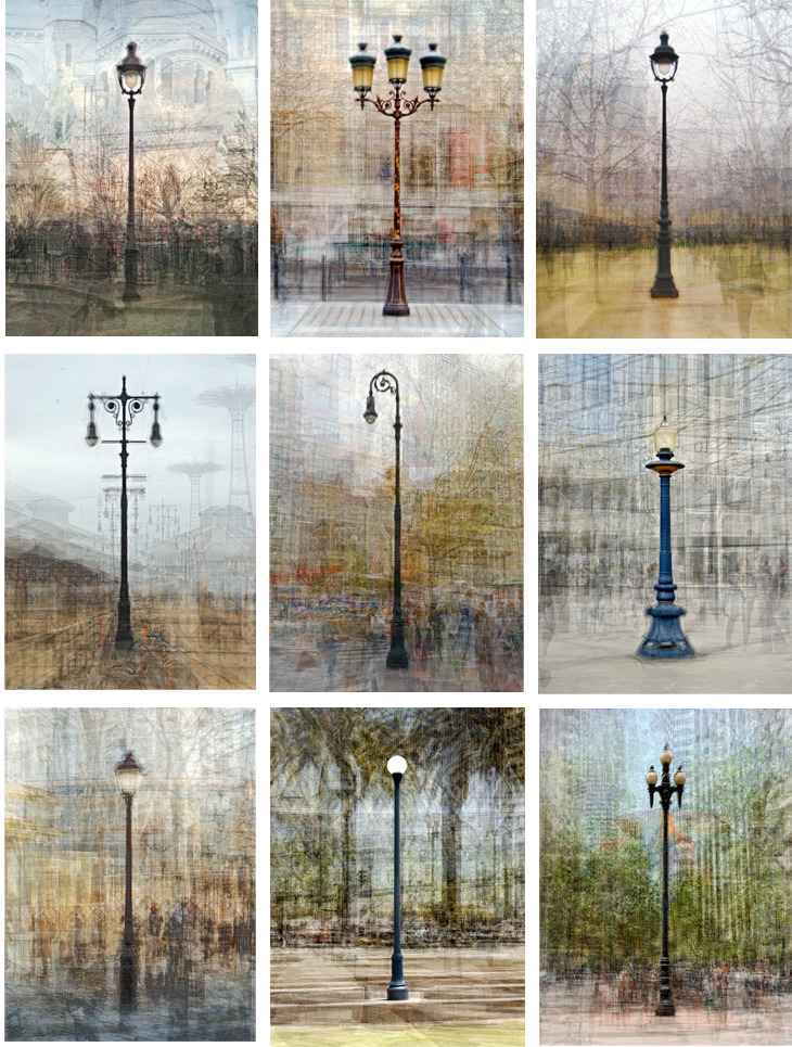 Streetlamp photo series by Pep Ventosa.