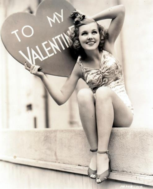 keepcalmtea:  Vintage Valentines message.