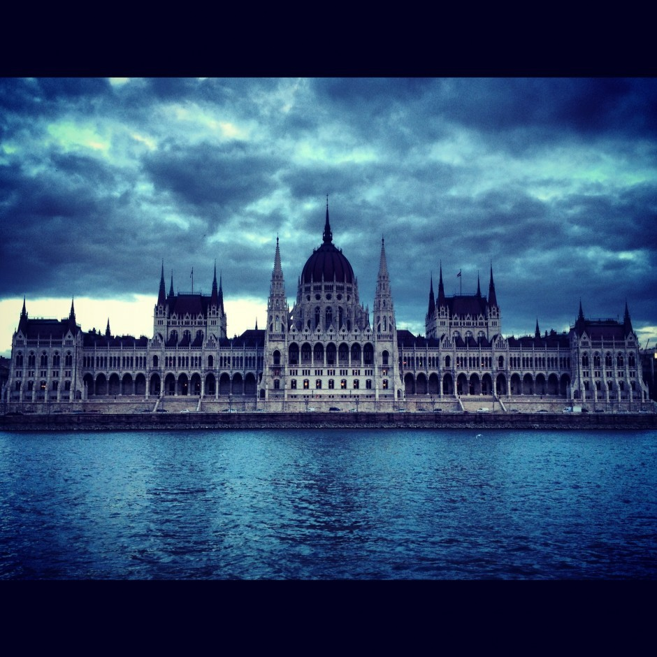 Blue in Budapest.Photo by Andrew, Matador member.