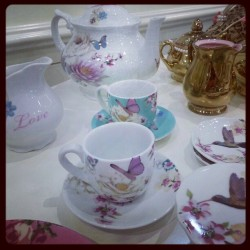 They're back and cuter than ever #teaparty #teapot #flowers #teatime #tea #cute #love #girly