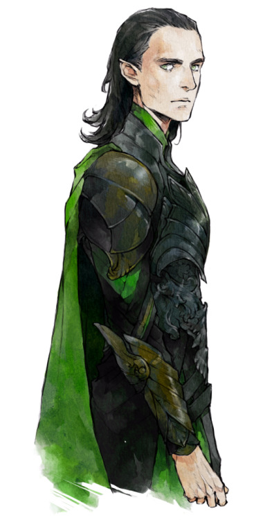 lanimalu:  I was wondering how Loki would look like if he was an elf.
