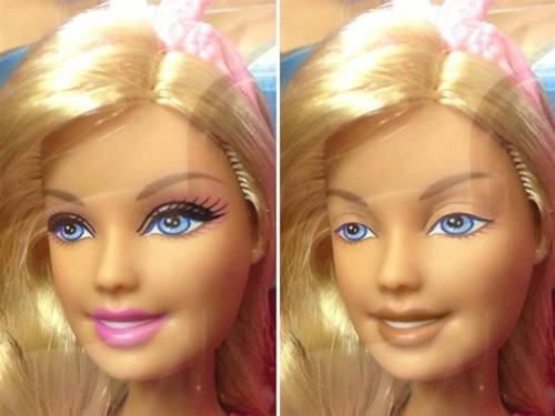 nbcnews:  Dolls without makeup: An artist's vision goes viral (Photo: Nickolay Lamm) Barbie has been scrutinized for years over everything from her controversial body proportions to her outfits and accessories to her careers. But there is one aspect of her persona that Nickolay Lamm feels consumers have glossed over: her heavy makeup. Read more from TODAY.