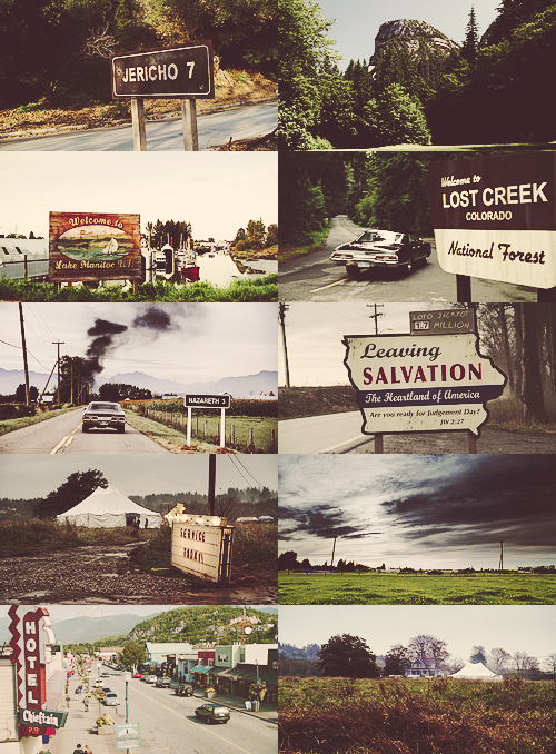 "korlovs:  100 supernatural things [18/100] Places   ""Let's hit the road.""(fictional locations list)"