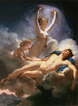 vulpesvolpes:  Aurora and Cephalus by Pierre Narcisse Guérin (1810)