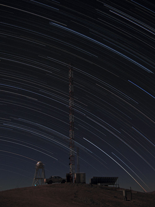 n-a-s-a:  Stars Trails over Armazones Credit: F. Char/ESO   Fascinating