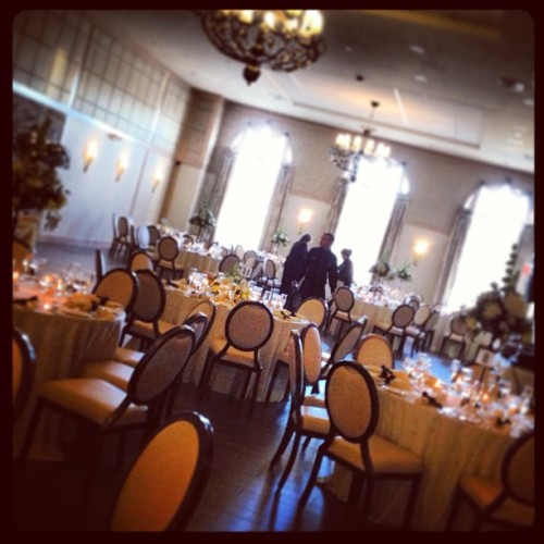 Filming a beautiful wedding at the Madison! (at The Madison)
