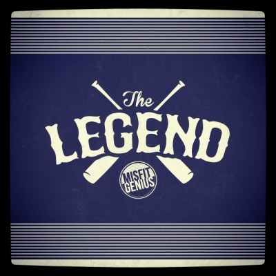 "MMCG honors a true Legend of baseball with a limited edition baseball tee, available at MIDNIGHT tonight! There comes a moment when an individual must have the Confidence to destroy one image and create another. By rising above hatred & staying Loyal to his cause, ""The Legend"" achieved this goal and became a Modern Misfit Classic Genius. Embrace the Misfit // Become the Genius http://themisfitgenius.com/shop/"