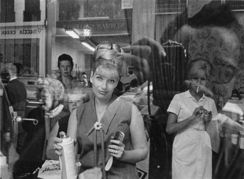 Harold Feinstein, Beauty Parlor Window, Philadelphia, 1964 Today we are celebrating the birthday of photographer and Panopticon Gallery artist Harold Feinstein!