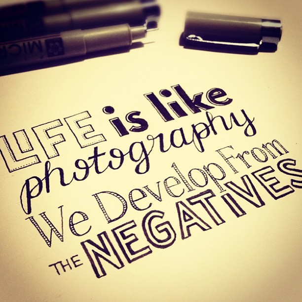 mageebabes:  Cute! #cute #quote #true #life #photography #develop #negatives #instaquote #instadaily