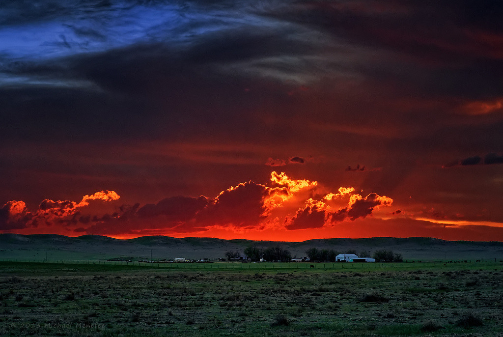 Spring Sunset on a Pawnee Ranch by Fort Photo http://flic.kr/p/en3dHQ