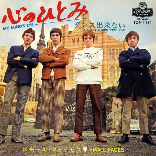 chrisgoesrock:  Small Faces - Japan Single 1967