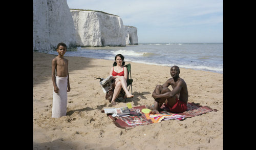 Trish Morrissey's best photograph: infiltrating a family on a Kent beach 'I ask strangers if I can become a member of their family. The person I replace takes the picture'