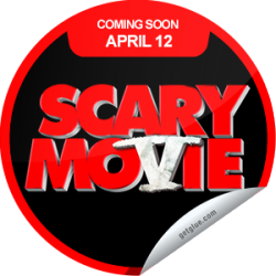 I just unlocked the Scary Movie 5 Coming Soon sticker on GetGlue                      2620 others have also unlocked the Scary Movie 5 Coming Soon sticker on GetGlue.com                  This movie is going to be scary. Scary fun that is! Be sure to see Scary Movie 5 when it opens in theaters on 4/12.  Share this one proudly. It's from our friends at Weinstein Company.