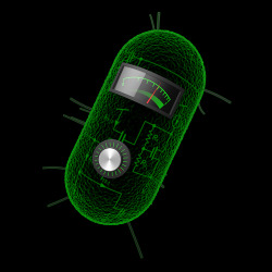 "laboratoryequipment:  Cells Can Be Living CalculatorsMIT engineers have transformed bacterial cells into living calculators that can compute logarithms, divide and take square roots, using three or fewer genetic parts.Inspired by how analog electronic circuits function, the researchers created synthetic computation circuits by combining existing genetic ""parts,"" or engineered genes, in novel ways.Read more: http://www.laboratoryequipment.com/news/2013/05/cells-can-be-living-calculators"
